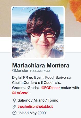 Maricler su Twitter